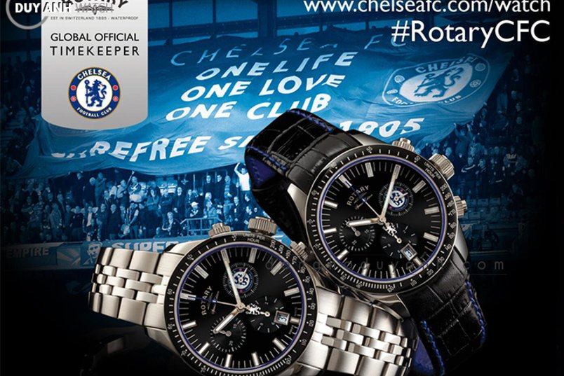 [Review - Đánh Giá] Rotary Chelsea FC Special Edition GB90048/04